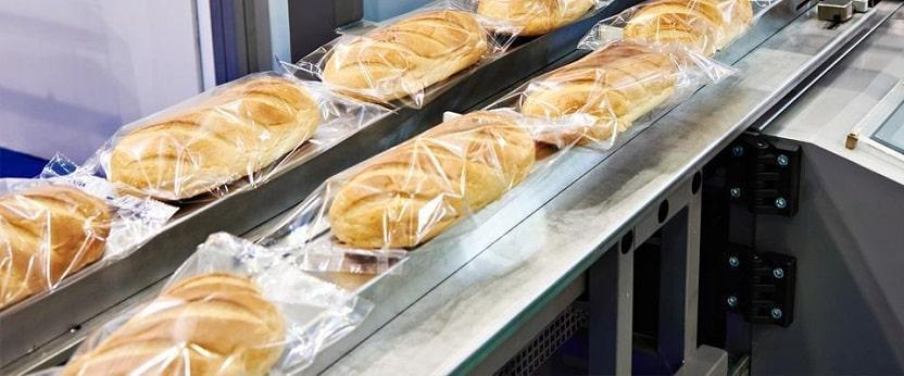 Foliowany chleb